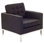 studio wool chair - dark gray