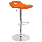 surf barstool in orange