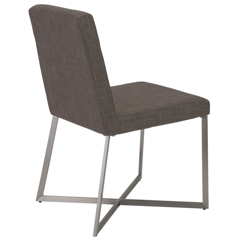 toledo dining chair - light gray