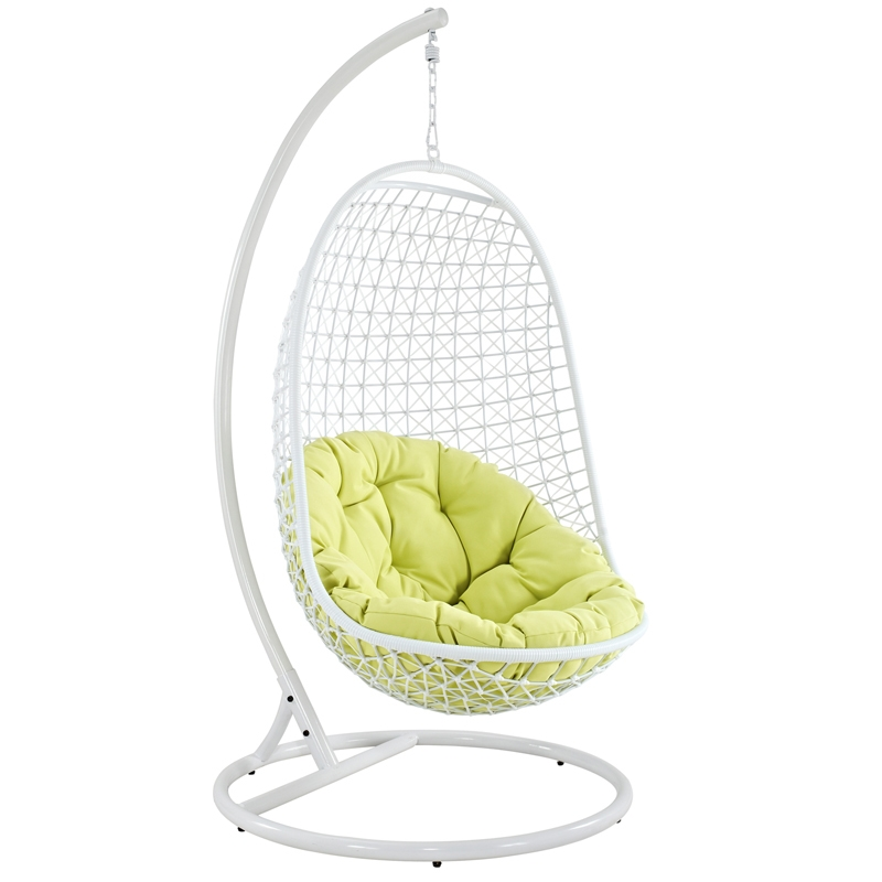 tranquil outdoor hanging chair