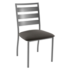 Treviso Dining Chair In Magnetite and Fleece