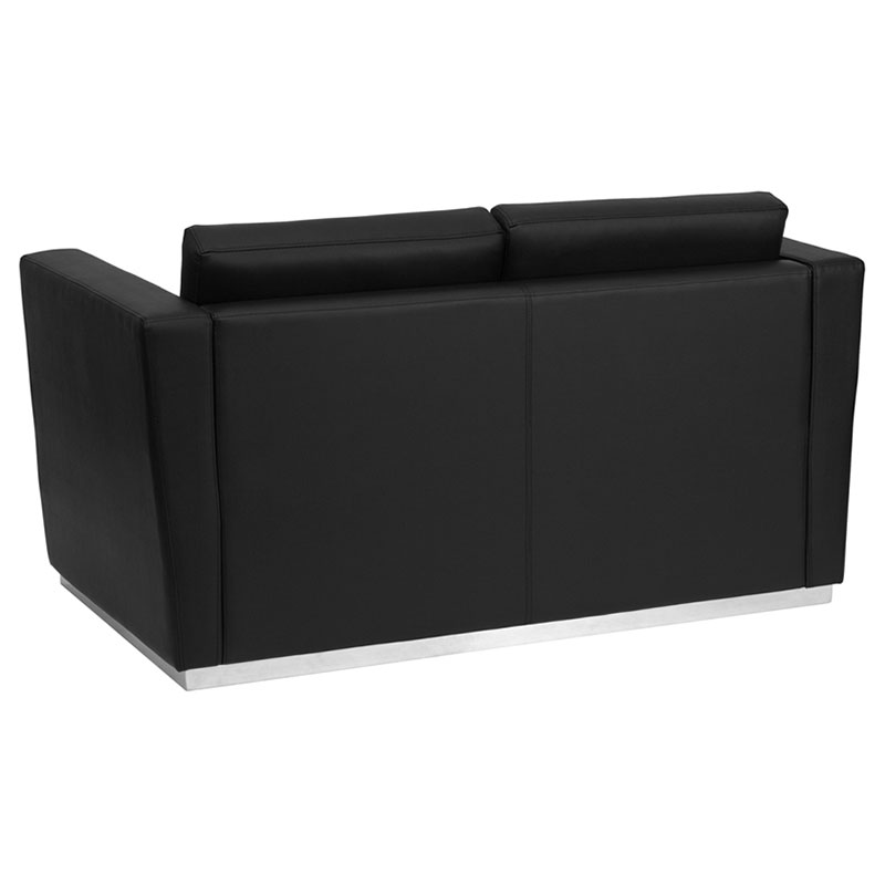 Trisha Modern Loveseat - Back View