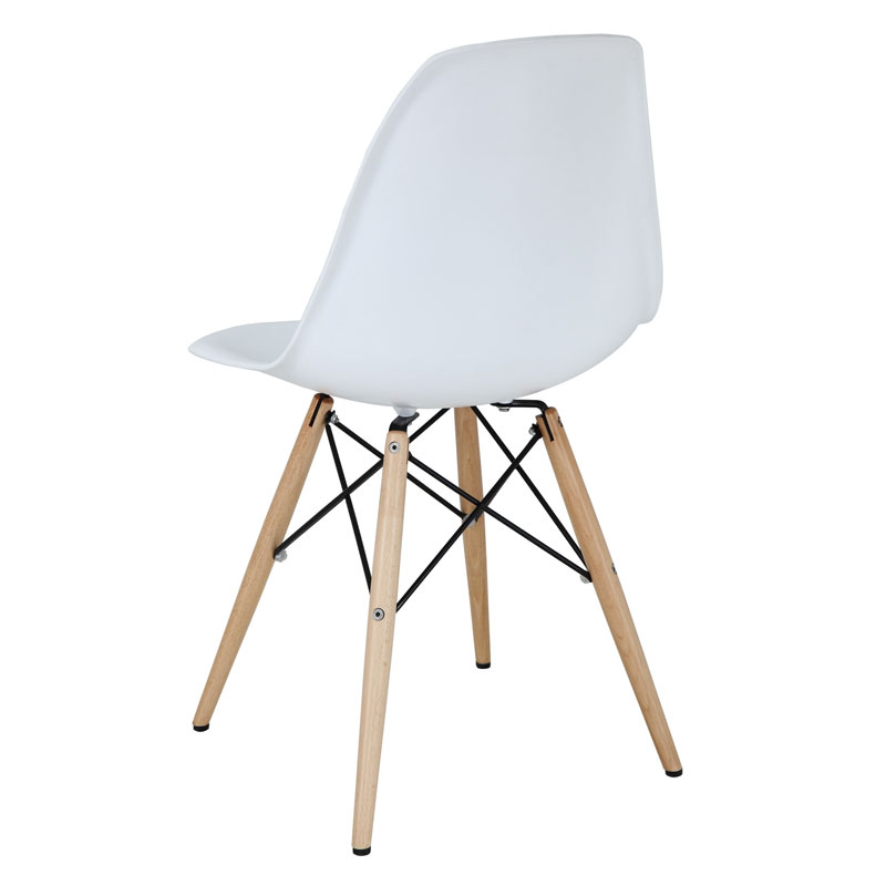 Truss Side Chair Back - White