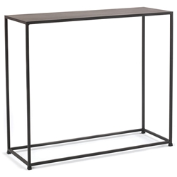 uptown modern console table