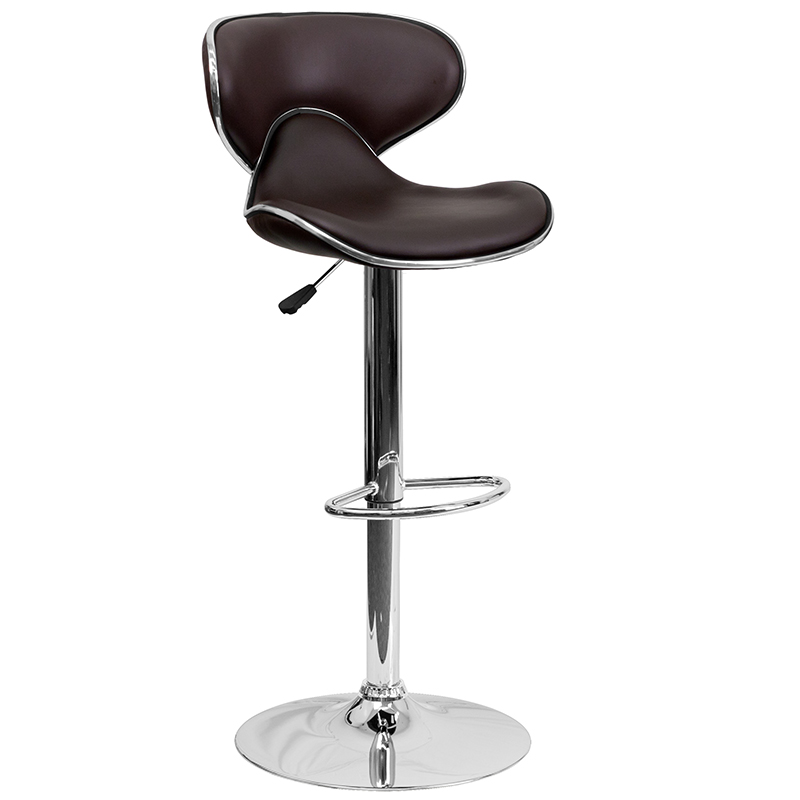 wings adjustable modern bar stool