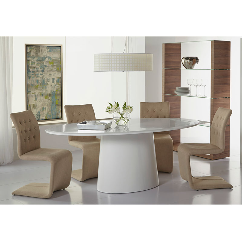 daniel modern oval dining table