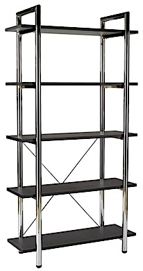 Laurence Leather Etagere
