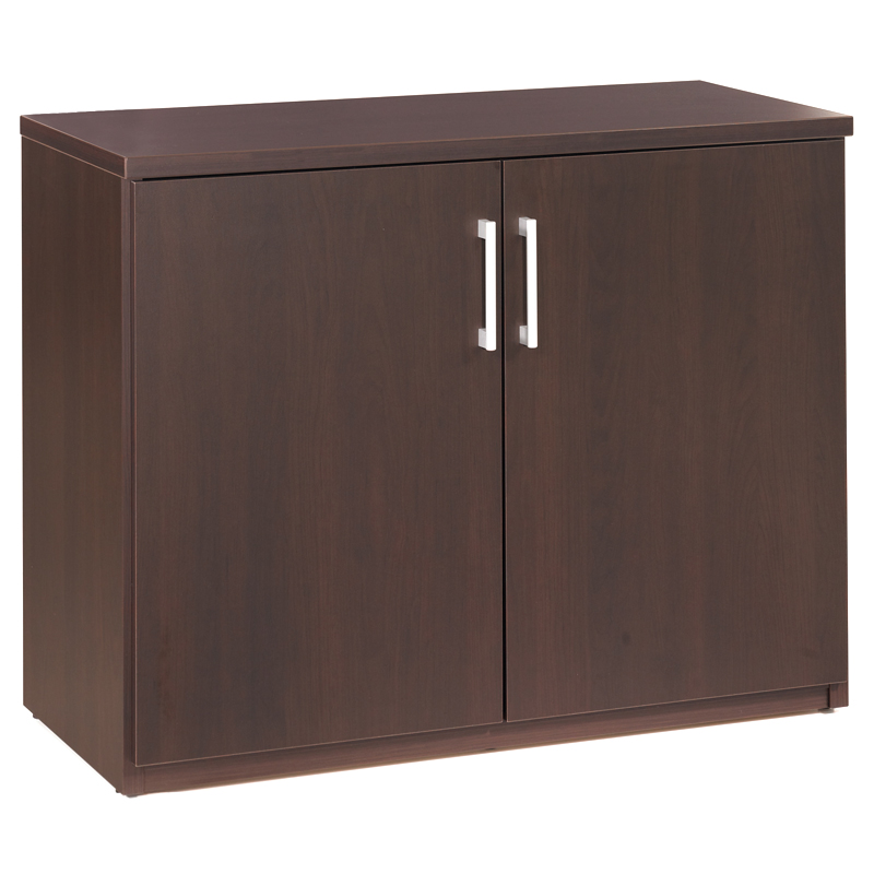 600 Plus Storage Cabinet in Coffee
