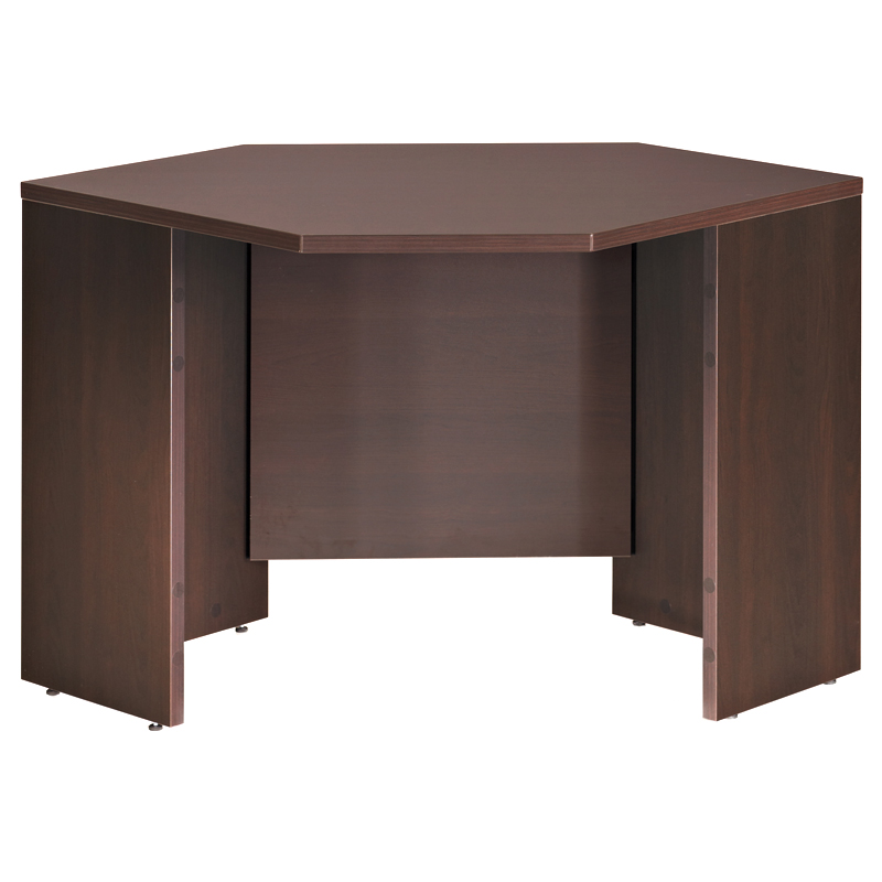 600 Plus Corner Desk - Coffee