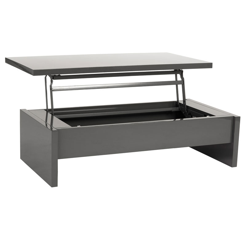 aurora coffee table in gray