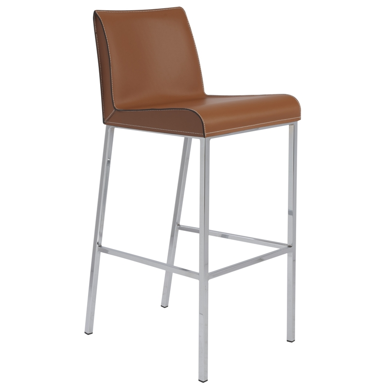 Candice Bar Stool in Cognac
