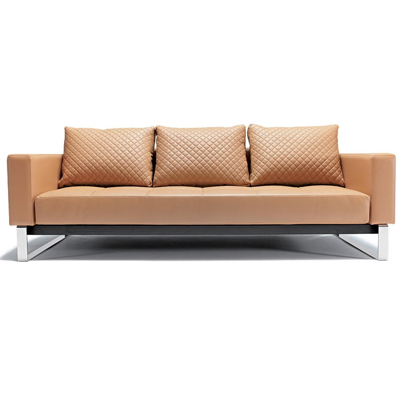 cassius deluxe sofa sleeper in camel