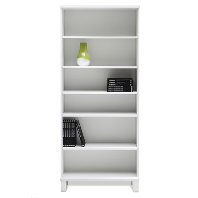 Copenhagen Bookcase in White