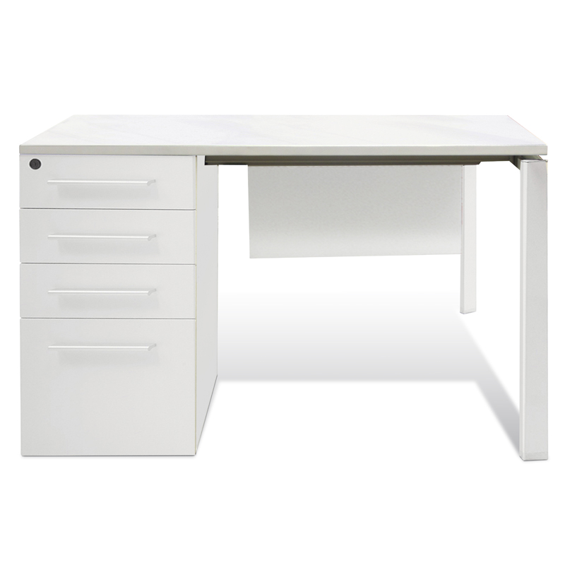 Copenhagen Clerk Desk in White