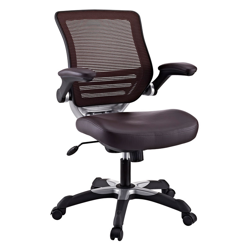 Ede Modern Office Chair in Brown