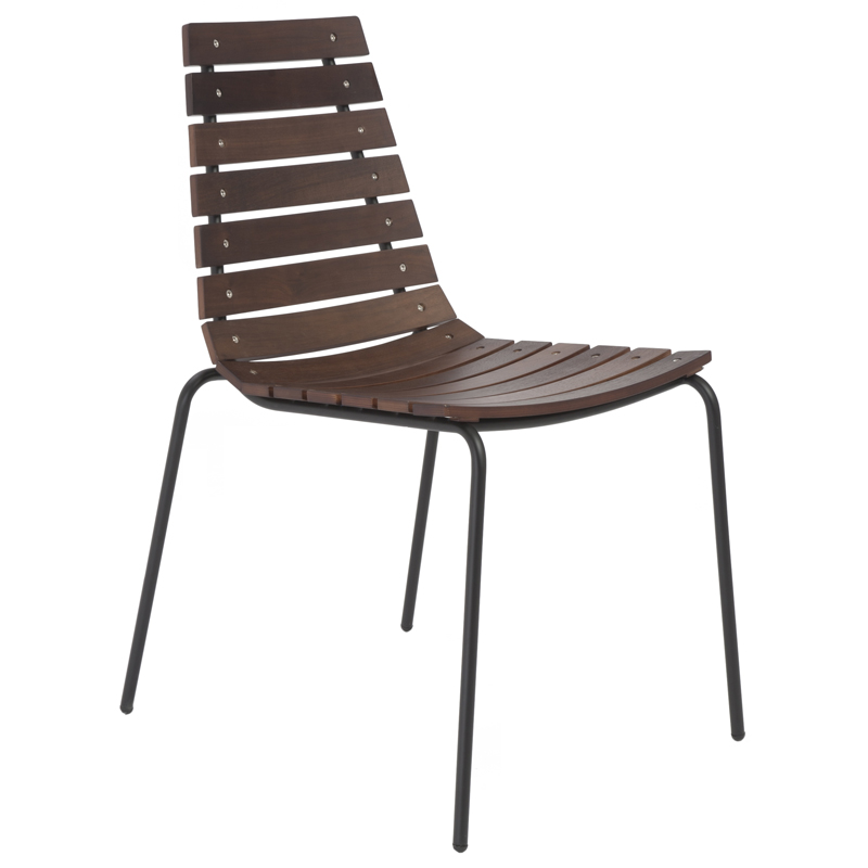 Stuart Modern Dining Chair in Black