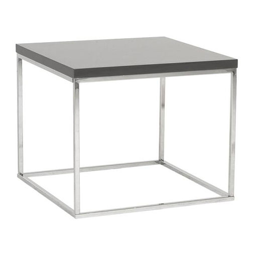 teresa end table gray