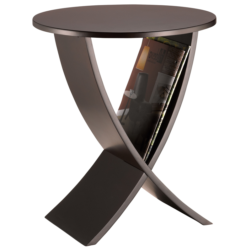York Magazine Rack End Table