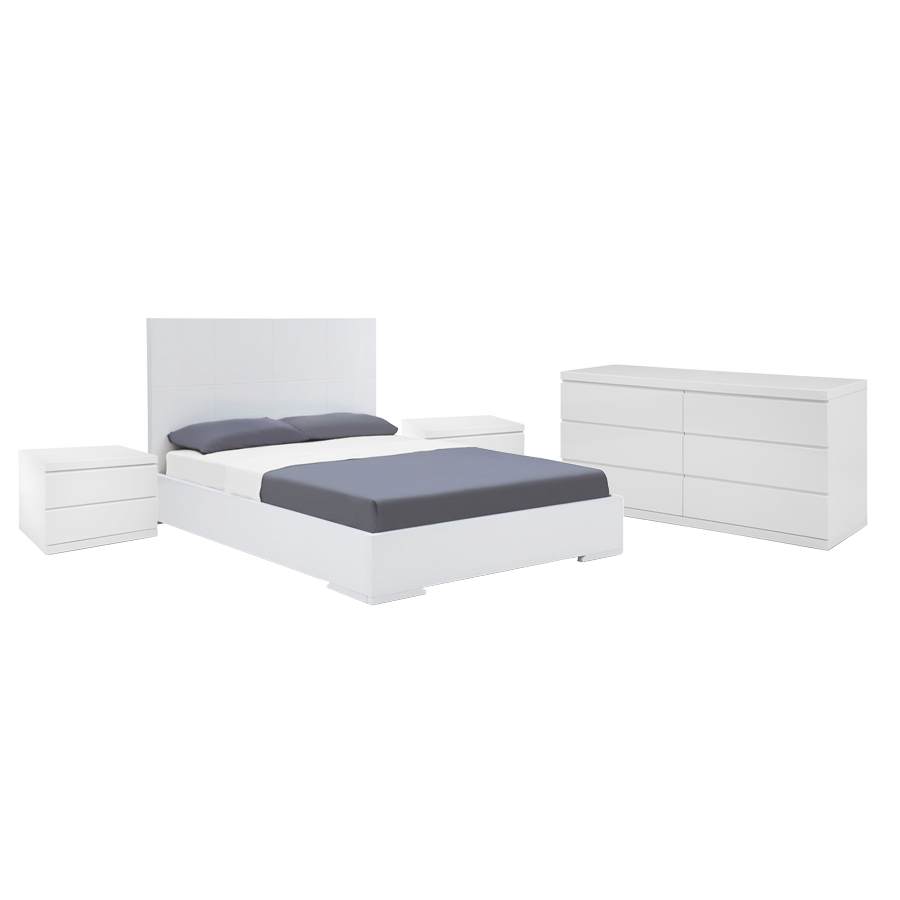 Strange Aarhus Bedroom Set White Uwap Interior Chair Design Uwaporg