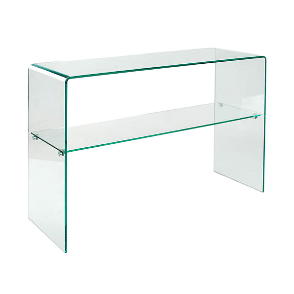Abbott Console Table W/ Shelf