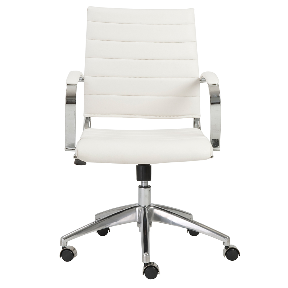 Tremendous Axel Low Back Office Chair White Theyellowbook Wood Chair Design Ideas Theyellowbookinfo