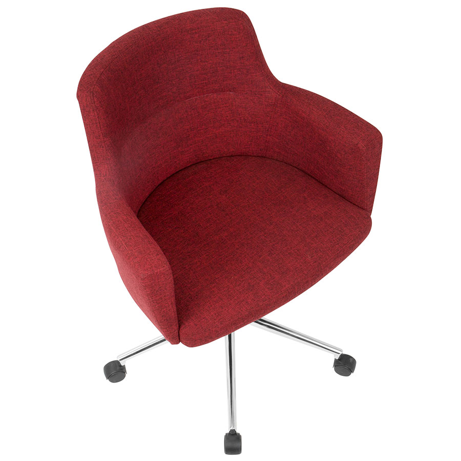 Outstanding Alvis Office Chair Red Theyellowbook Wood Chair Design Ideas Theyellowbookinfo