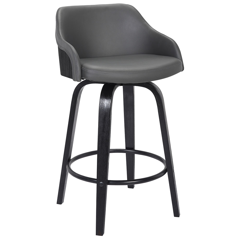 Cool Amber Counter Stool Black Gray Evergreenethics Interior Chair Design Evergreenethicsorg