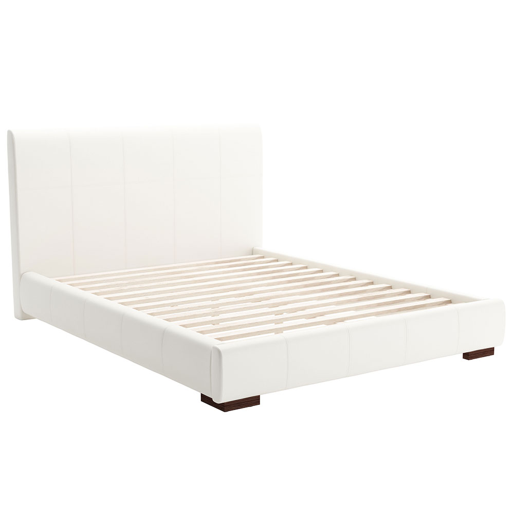 Amelie Platform Bed White