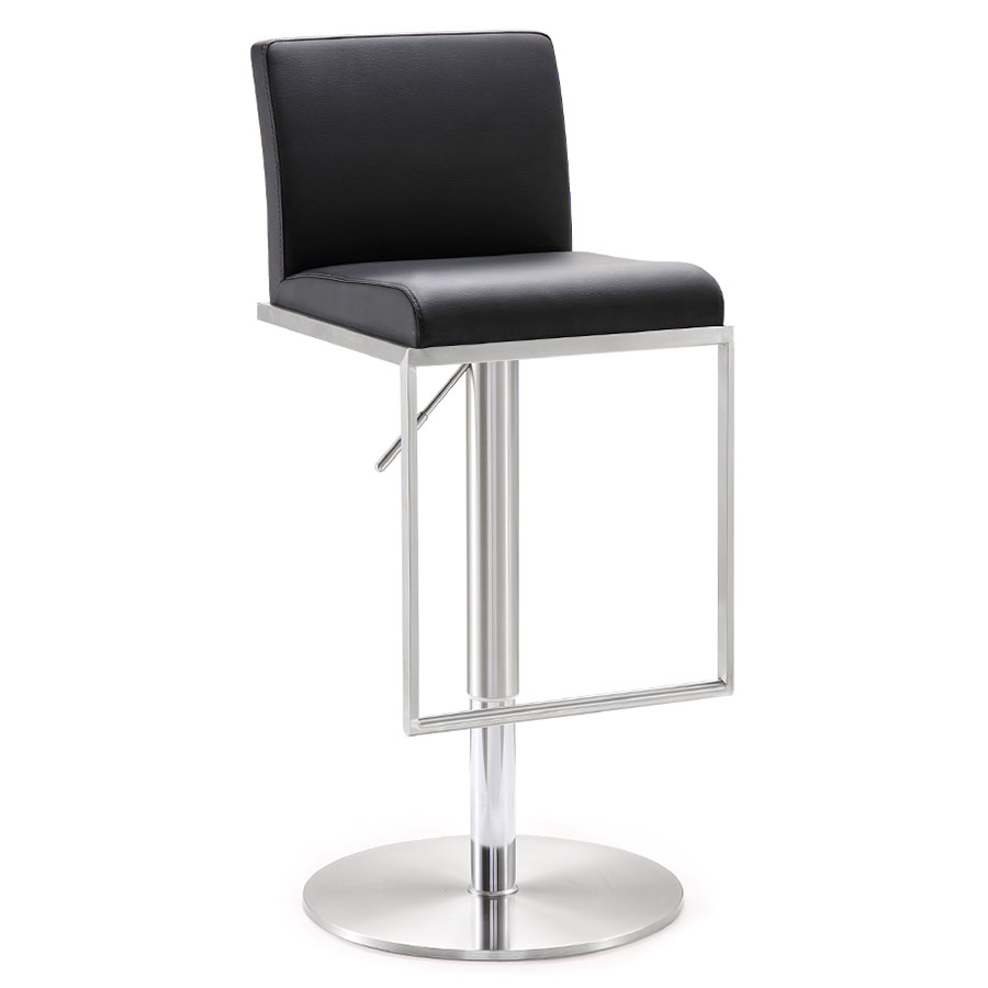 Admirable Ardennes Adjustable Stool Black Gmtry Best Dining Table And Chair Ideas Images Gmtryco