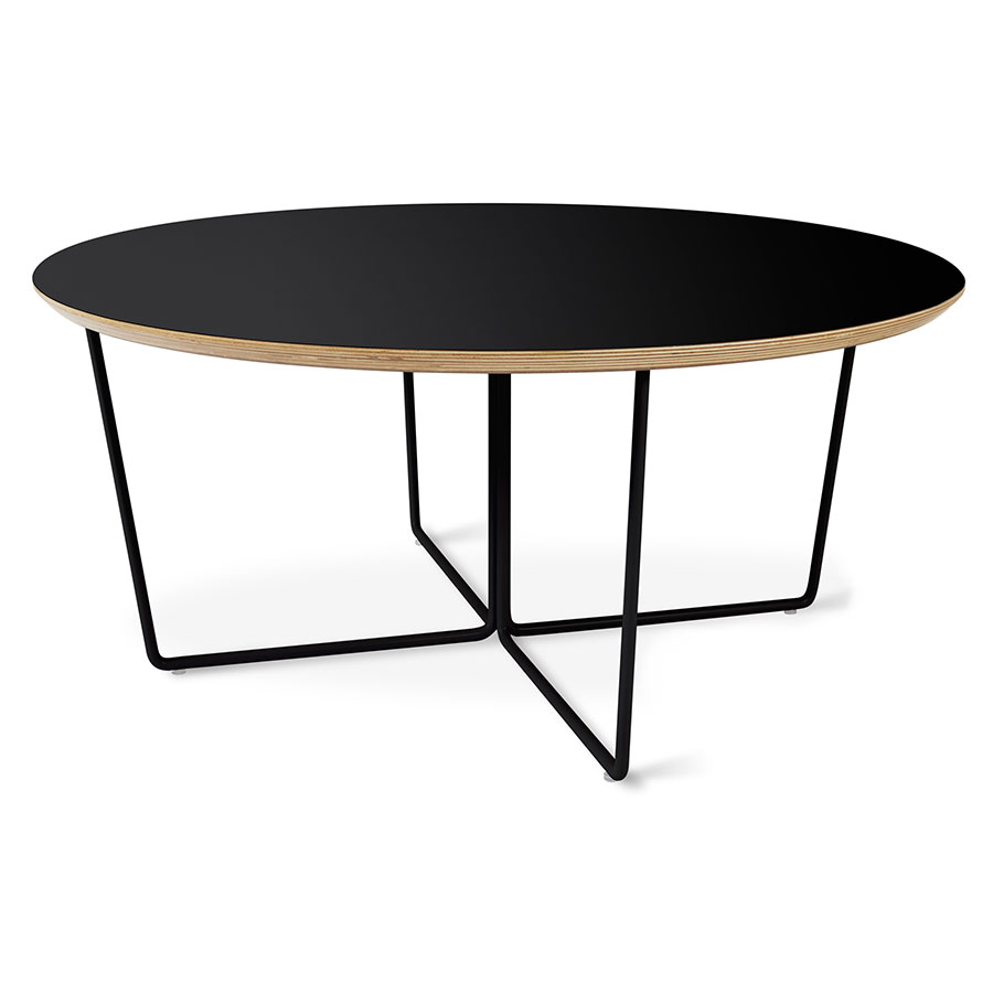 Array Round Coffee Table Black