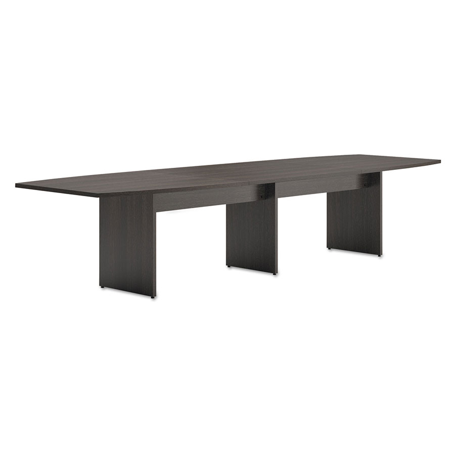 Bellevue In BoatShaped Espresso Conference Table Eurway - Espresso conference table