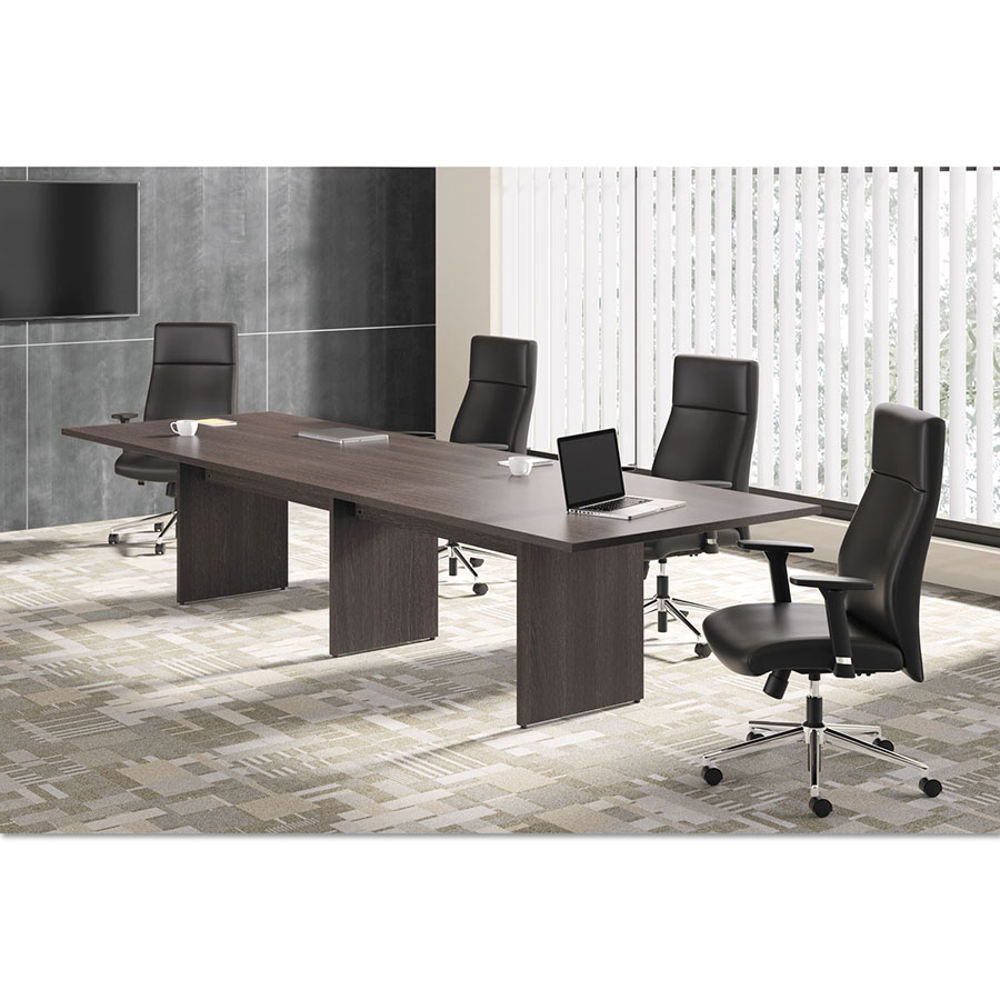 Bellevue In Rectangular Espresso Conference Table Eurway - Rectangular conference room table