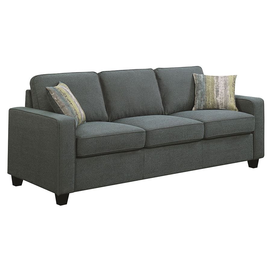Modern Sofas | Berkeley Blue Sofa | Eurway Modern