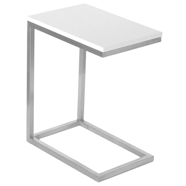 Bishop Table | White Lacquer