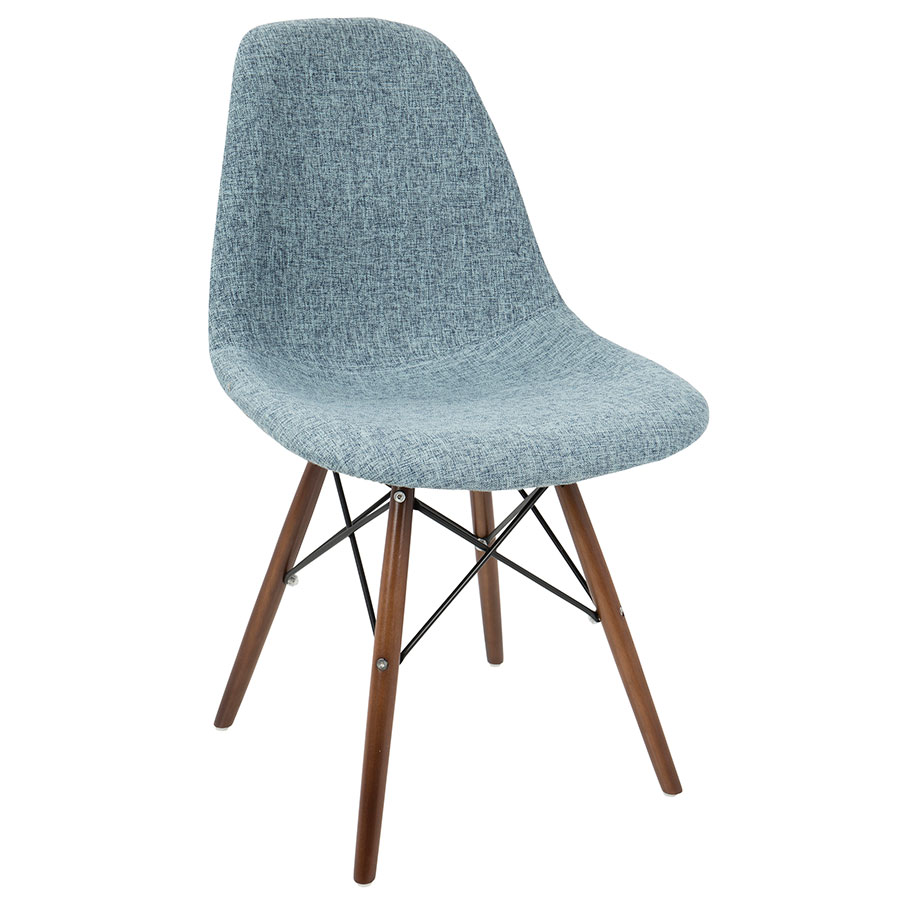 Super Bora Side Chair Light Blue Charcoal Set Of 2 Pabps2019 Chair Design Images Pabps2019Com