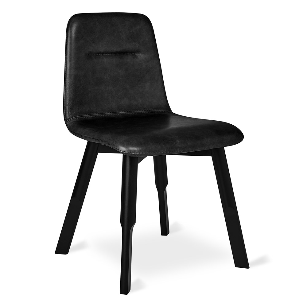 Groovy Bracket Dining Chair Saddle Black Leather Squirreltailoven Fun Painted Chair Ideas Images Squirreltailovenorg