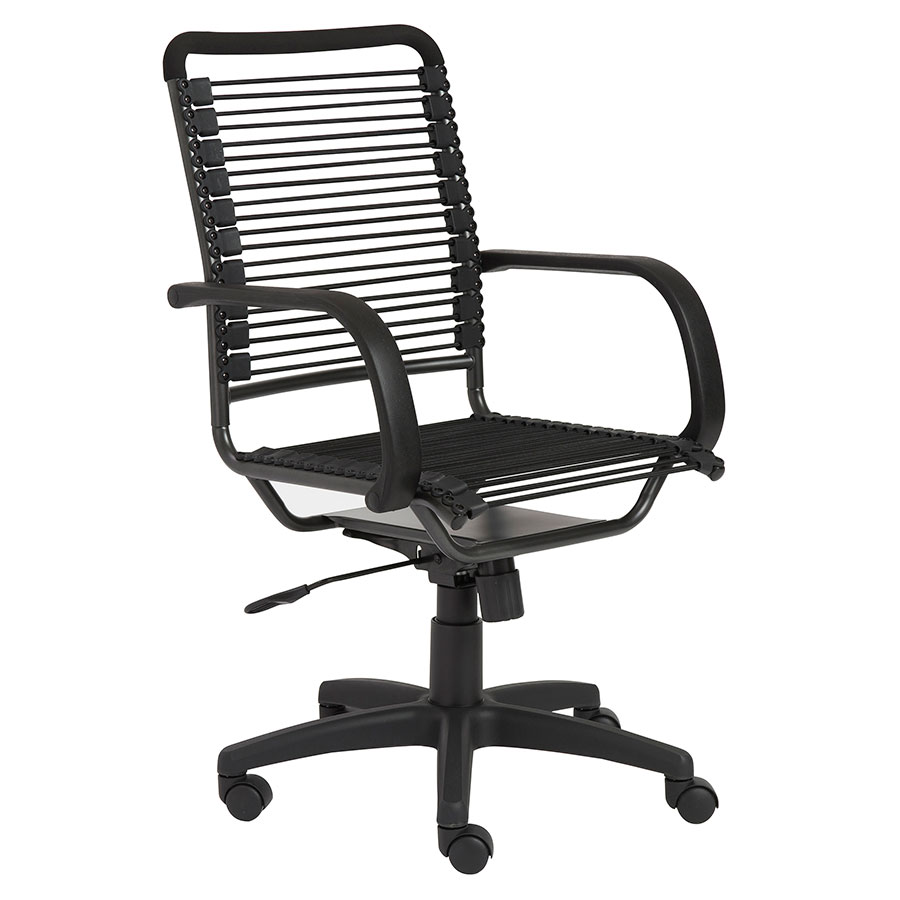 Bungie High Back Black Chair By