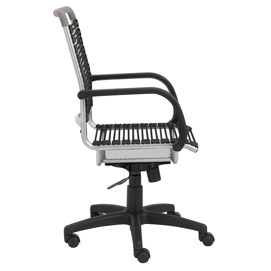 Silver Bungie Chair By Euro Style