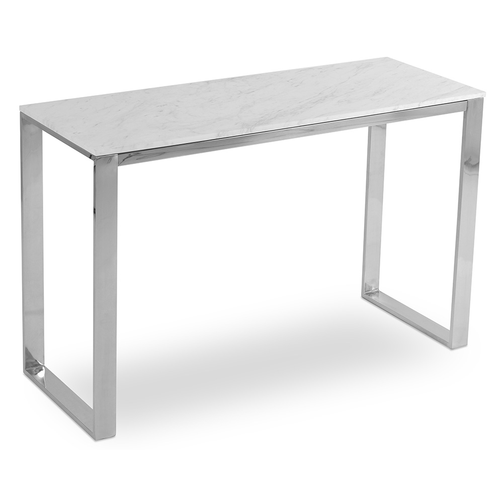 Calvin Modern Marble Console Table By