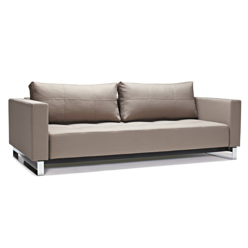 Innovation Cassius Modern Grey Excess Sleeper Sofa | Eurway