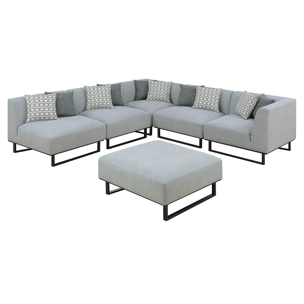 Cordova Sectional Sofa + Ottoman