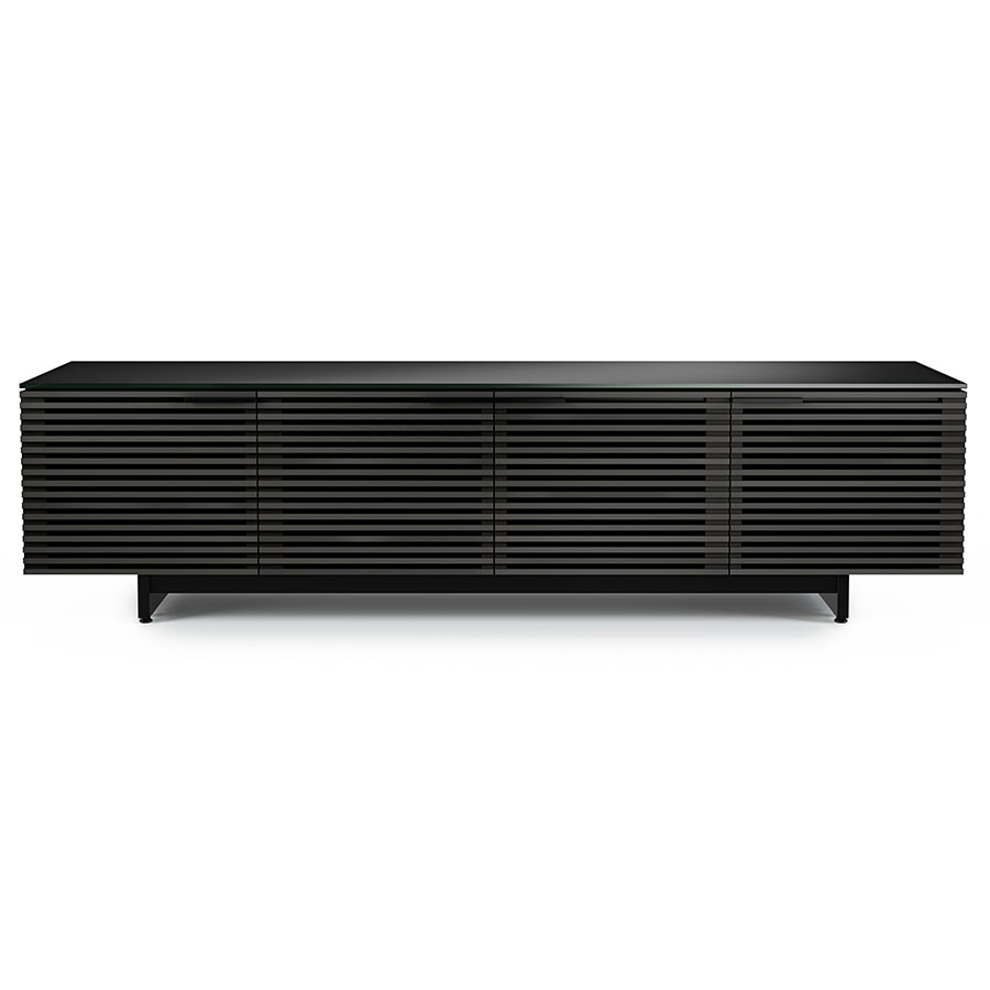 Corridor Modern Charcoal Low Tv Stand By Bdi Eurway