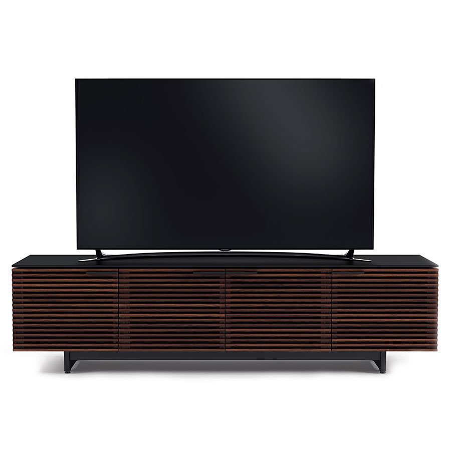 Corridor Modern Chocolate Low Tv Stand By Bdi Eurway
