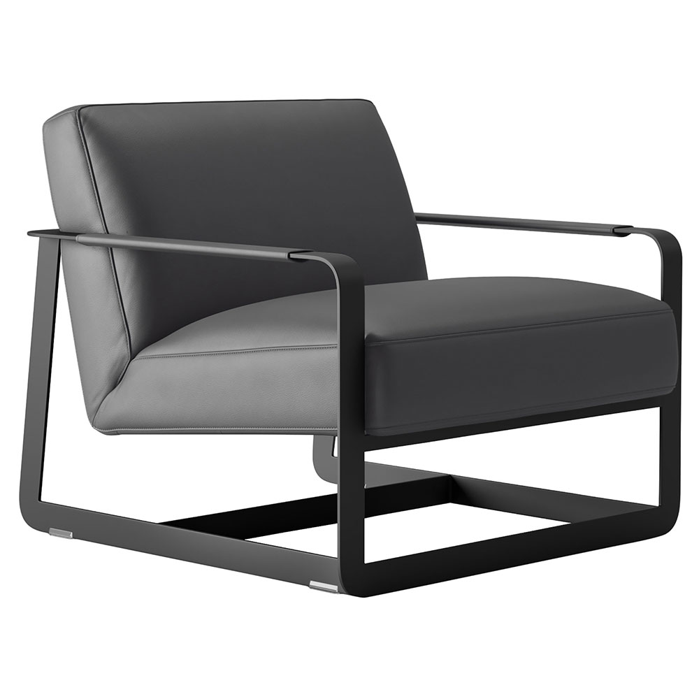 Fine Crosby Lounge Chair Graphite Pabps2019 Chair Design Images Pabps2019Com
