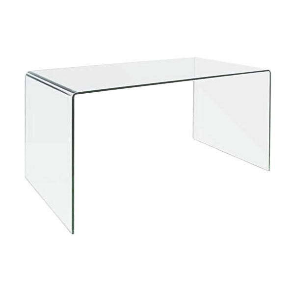 Clear Glass Furniture Inside Denmark Glass Desk Extra Clear Eurway Modern Furniture