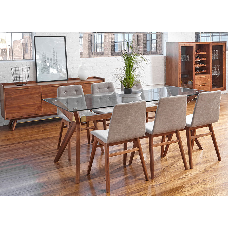 Denali Modern 75 Dining Table By
