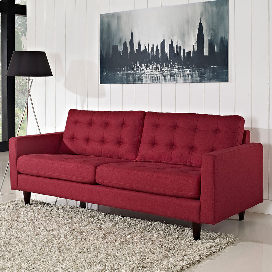 Enfield Sofa   Red