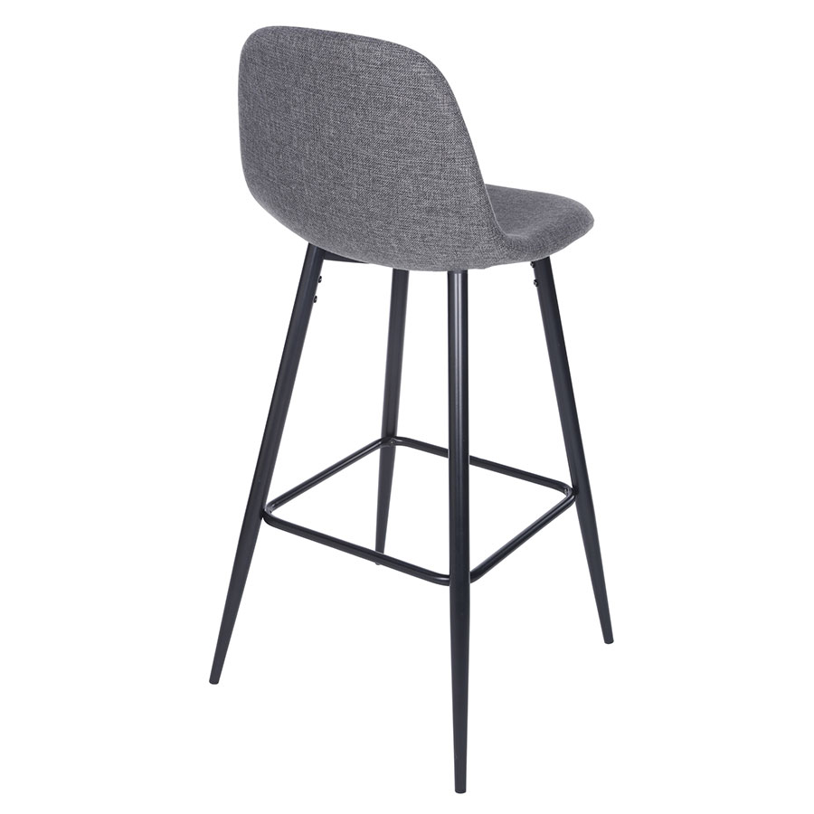 Ennis Bar Stool Gray Set Of 2