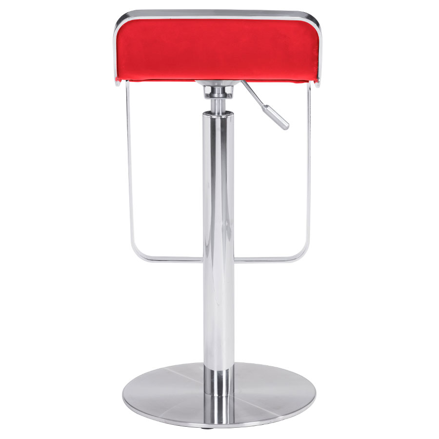Marvelous Equino Adjustable Stool Red Gmtry Best Dining Table And Chair Ideas Images Gmtryco