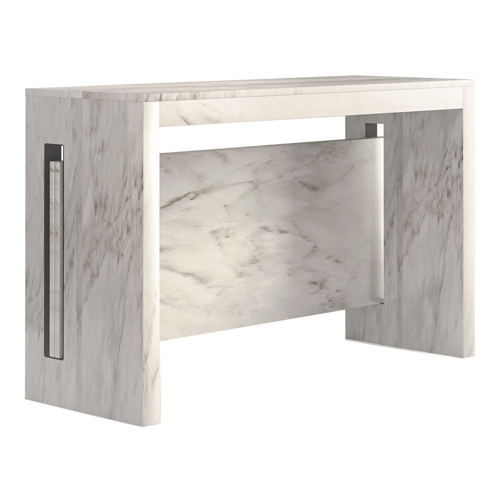 Errai Modern Console Dining Table Marble Eurway